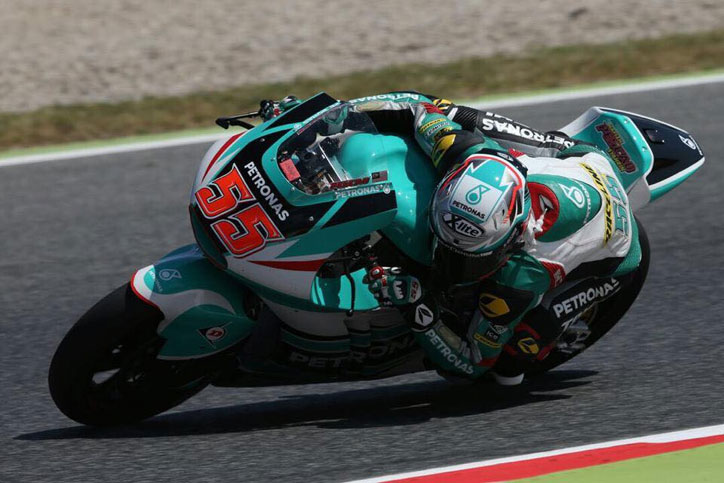 Hafizh Syahrin ditargetkan naik ke MotoGP 2018