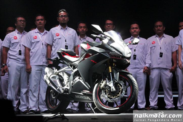 Spesifikasi All New Honda CBR250RR