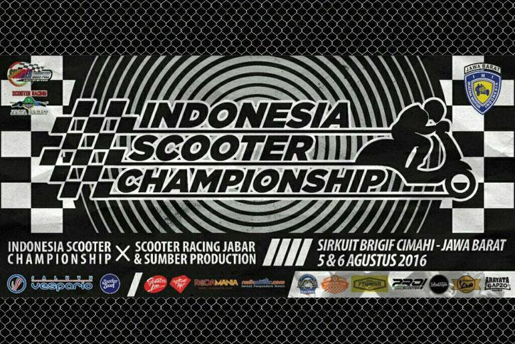 Indonesia Scooter Championship 2016 Cimahi