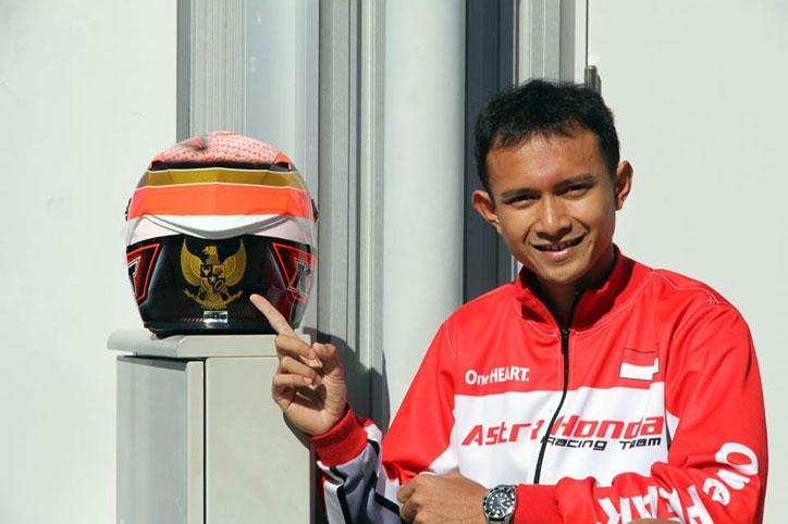 Dimas Ekky Resmi Gantikan Navarro di Moto2 Sepang