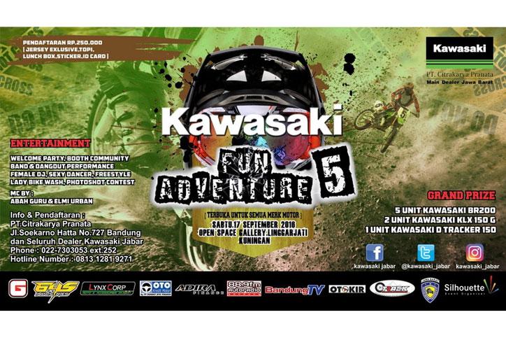 Kawasaki Fun Adventure 2016