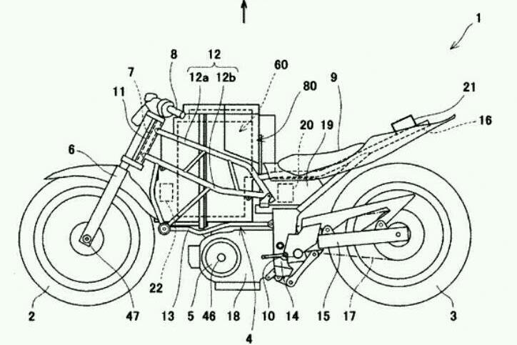 motor listrik kawasaki