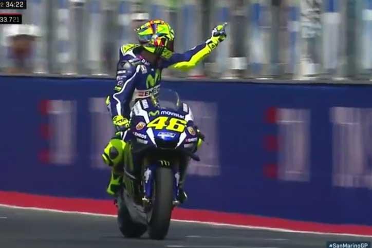 Rossi buka konflik dengan Aleix Espargaro