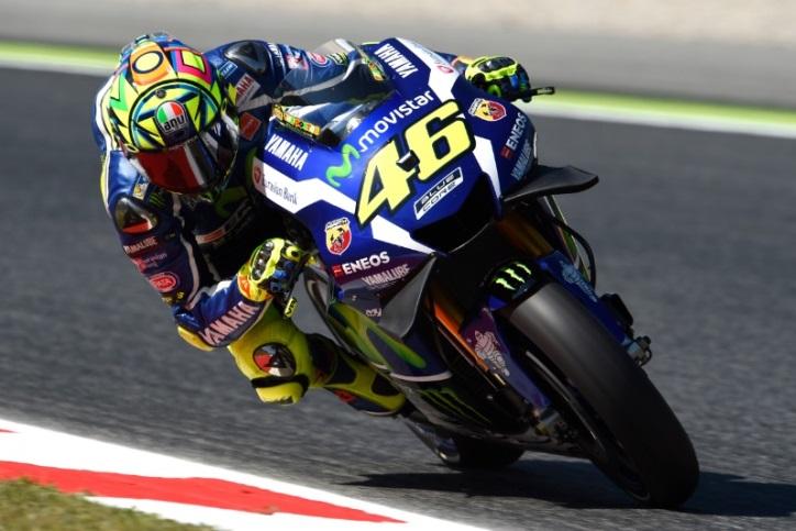 Rossi Kuasai FP1 MotoGP Misano