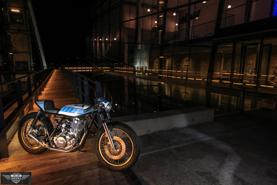 Modifikasi Yamaha SR400