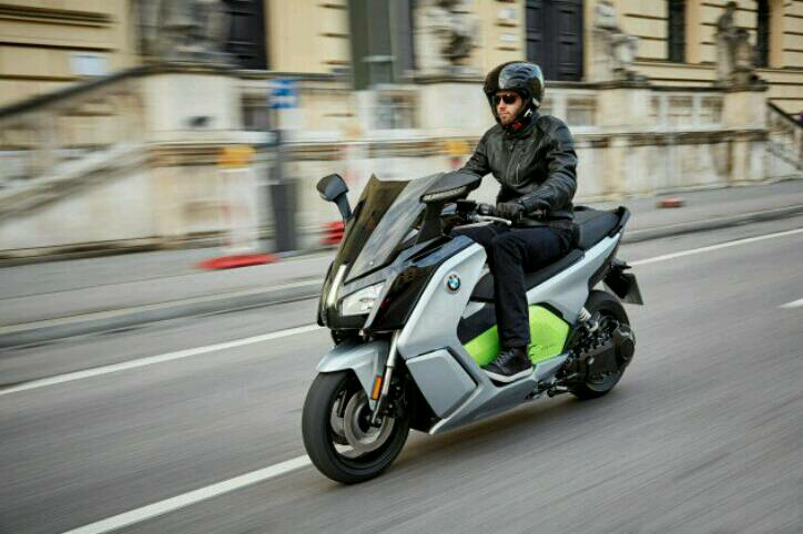 Potongan Harga BMW Motorrad C Evolution Rp 25 Juta