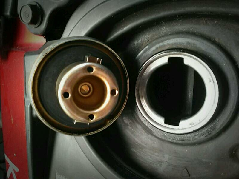 bau bensin