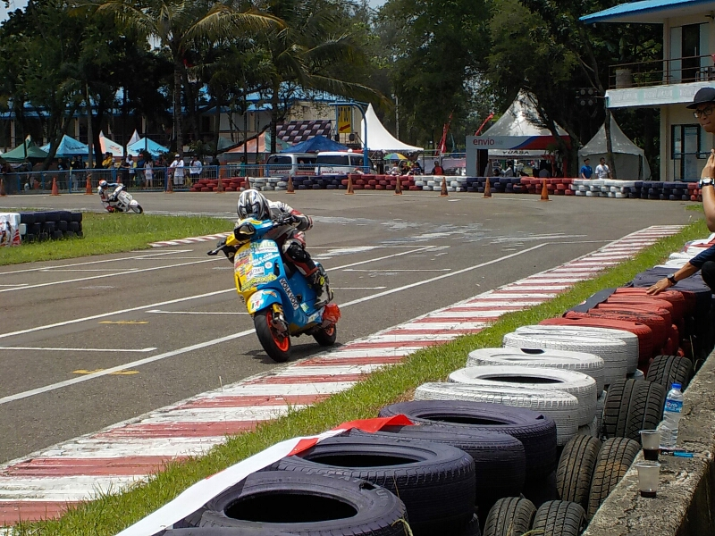 hasil lomba VBI Scooter GP 2016 seri 4