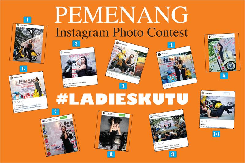 Pemenang Lomba Foto Instagram #ladieskutu