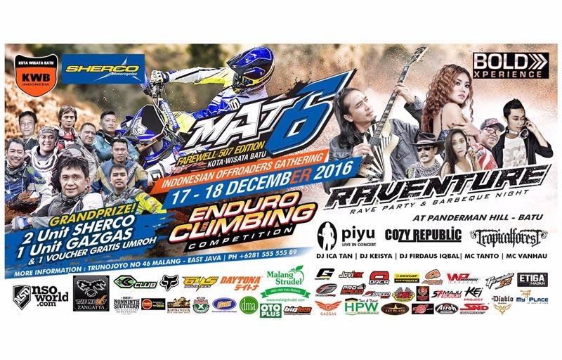 Malang Adventure Trail 6 Diundur 17-18 Desember 2016