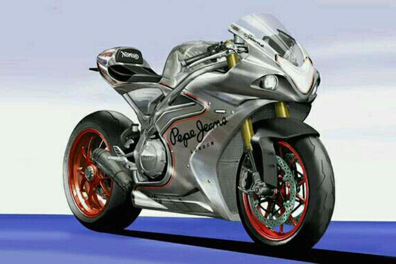 Superbike norton V4