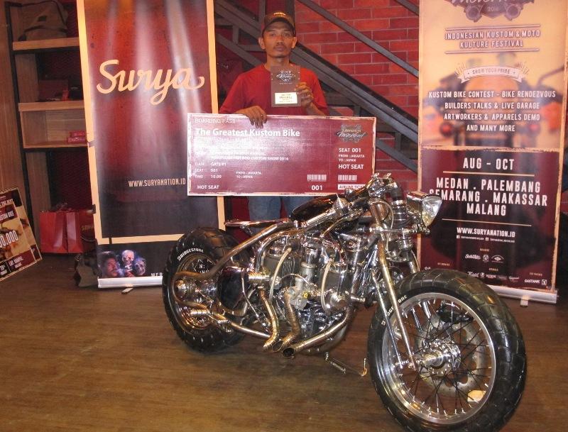 Juara Suryanation Motorland 2016