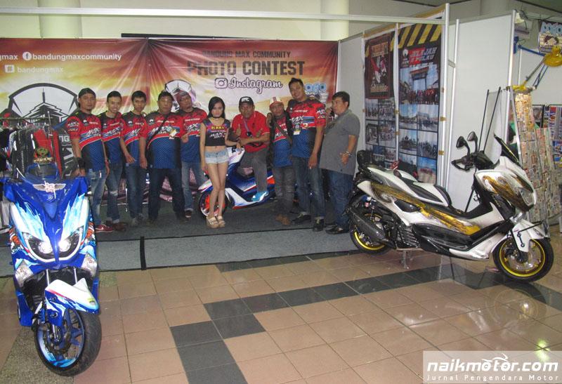Kisah BMC Ketika NMax Beradu Cepat dengan Sepeda Balap di Bandung