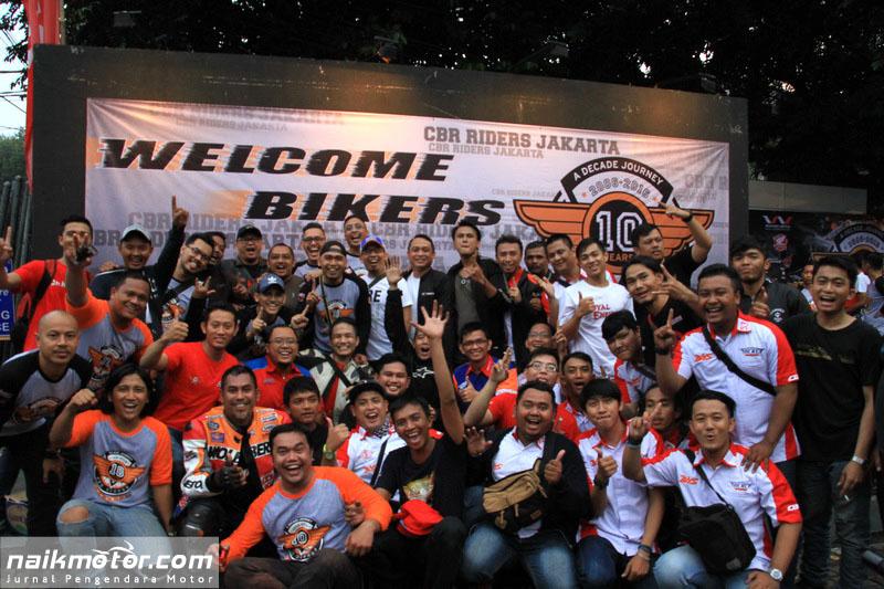 Satu Dekade CBR Riders Jakarta
