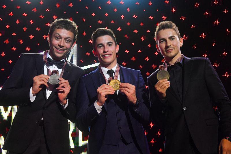 Momen Spesial Marquez dan Honda Menjadi Bintang MotoGP Award
