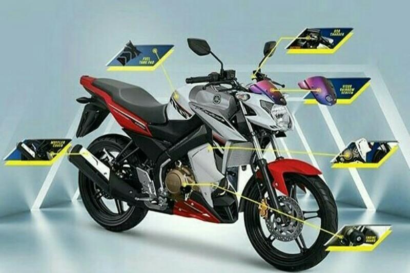 Paket Aksesori Rp 1 Juta Buat Yamaha New V-ixion Semakin Gagah