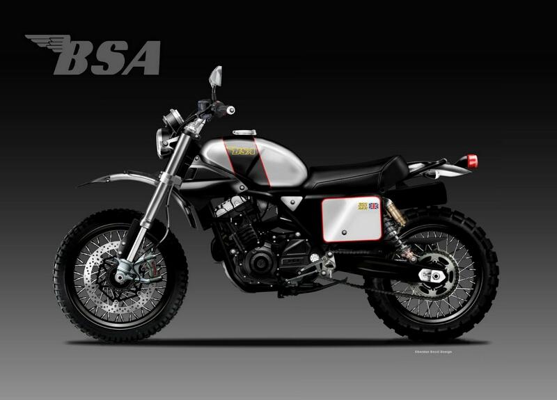 BSA MX Rancangan Oberdan Bezzi