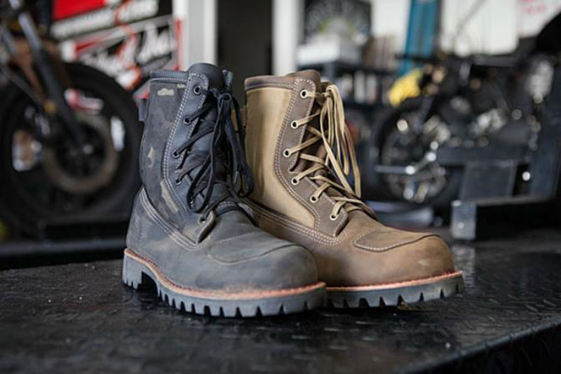 Bates Footwear Bomber Rilis Sepatu Bot Bergaya Militer untuk Motoris