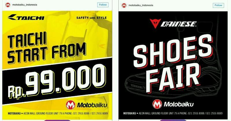 Motoritz dan Motobaiku Gelar Year End Sale