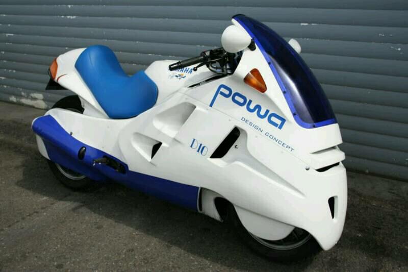 Yamaha Powa D10, Hanya Keberuntungan untuk Melihatnya