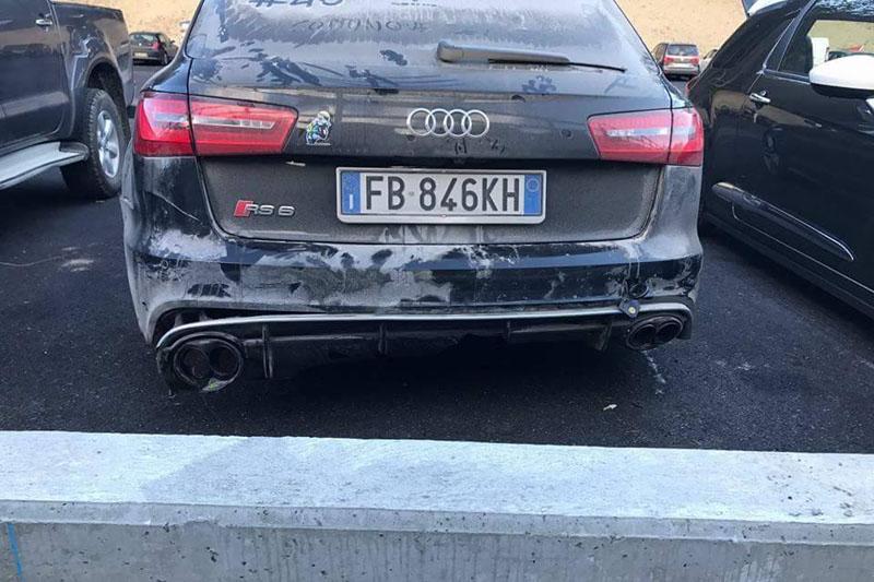 mobil Audi RS6 milik Rossi