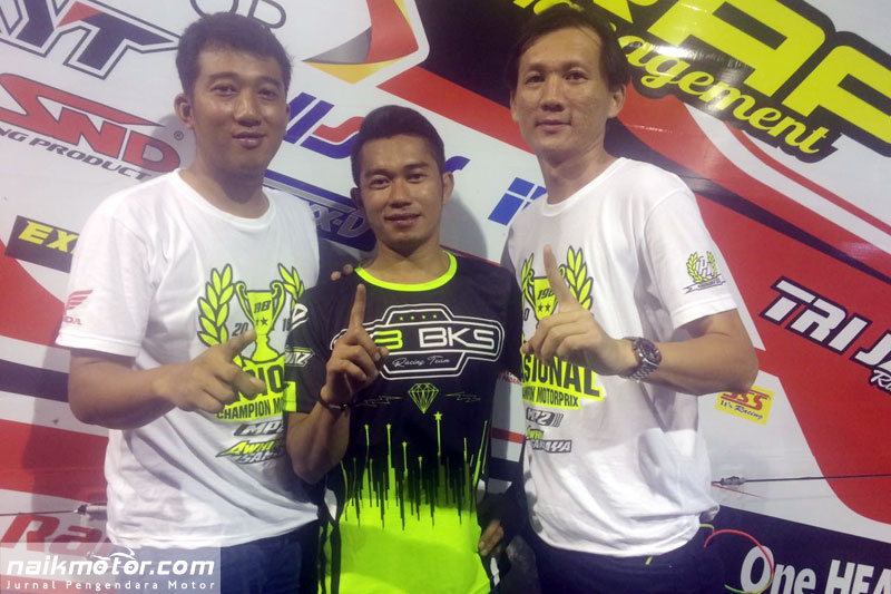 Fitriansyah Kete resmi bergabung honda trijaya di musim 2017