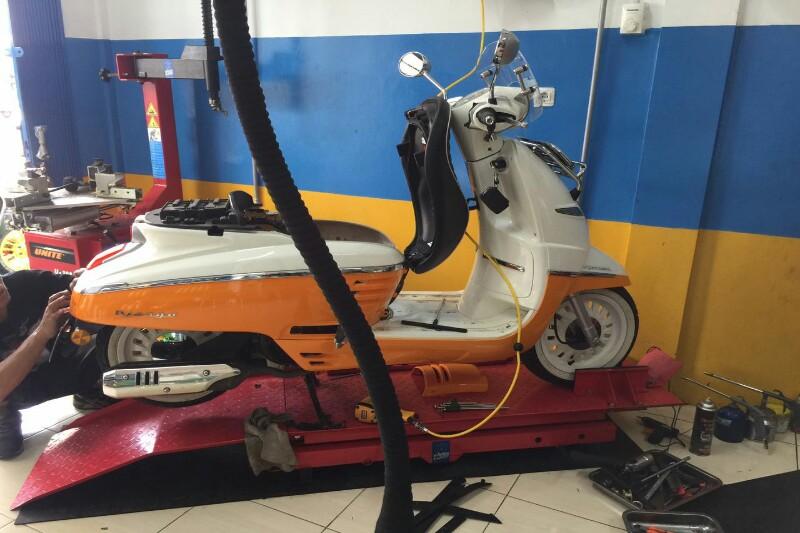 Membuat Akselerasi Peugeot Django Lebih 'Ngacir'