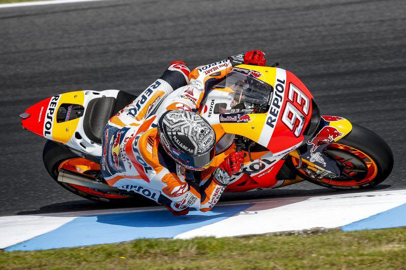 Marquez Alami Keseleo Bahu Akibat Jatuh di Tes Privat Jerez