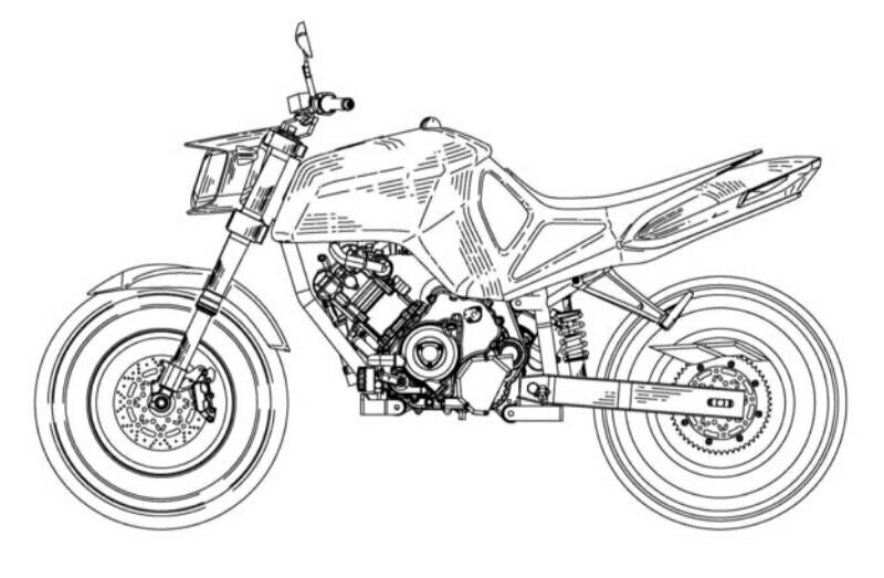 Moto Parilla SUV 750 Concept Berakar Sepeda Listrik