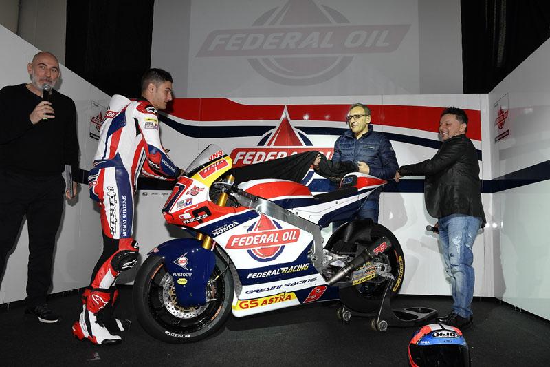 Federal Oil Gresini Moto2 2017