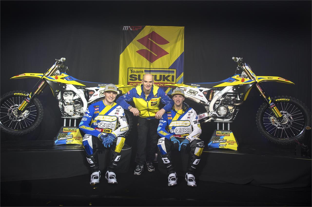 Suzuki Mempublikasikan Jajaran Crosser FIM MXGP World Championship