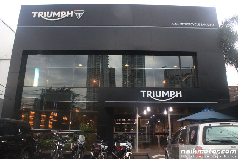 Diler Triumph GAS
