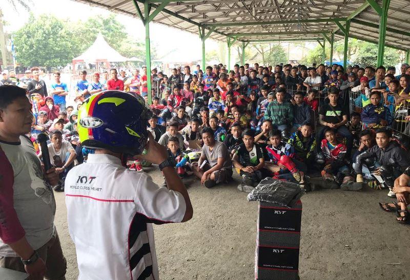 cara promotor manjakan sponsor dan edukasi pembalap