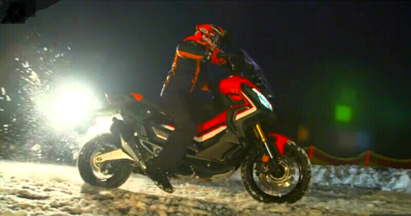 Marc Marquez Kembali Berkendara di Atas Salju