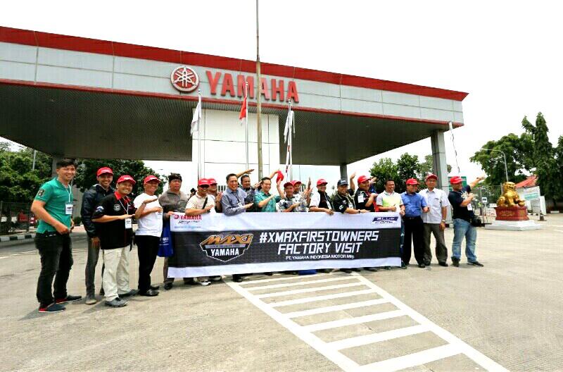 Pemesan Pertama Kepincut Yamaha XMax