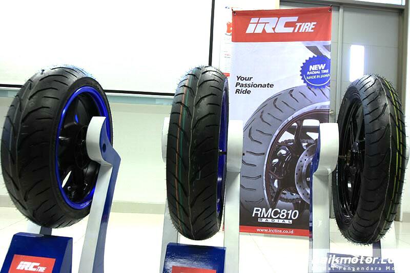 Ban Terbaru Radial IRC RMC 810 untuk Sportbike