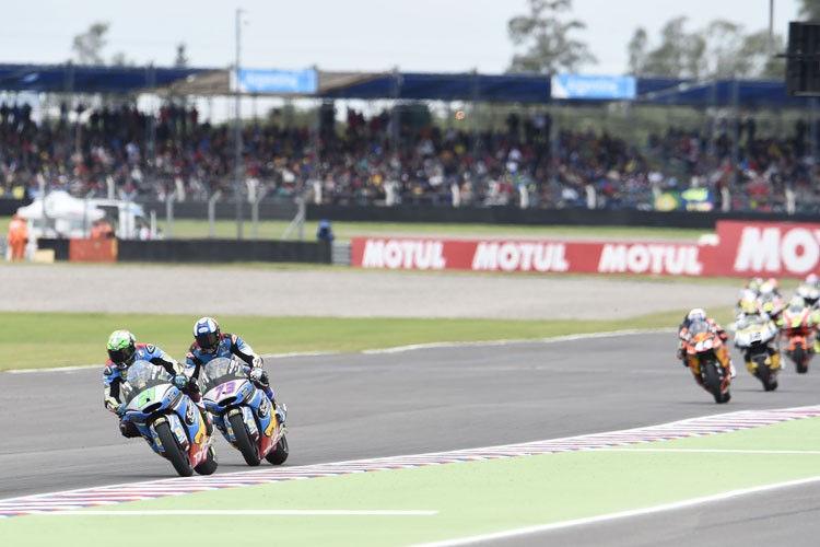 Morbidelli juara Moto2 Argentina