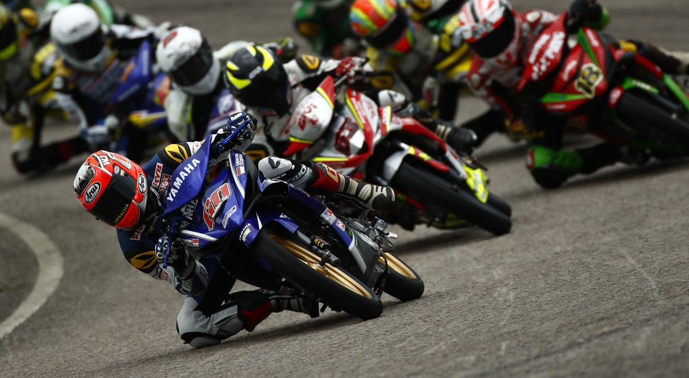 Dua Pembalap Yamaha Indonesia