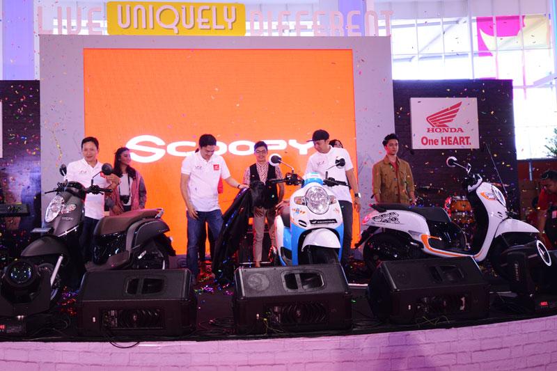 All New Honda Scoopy Goda Warga Tangerang