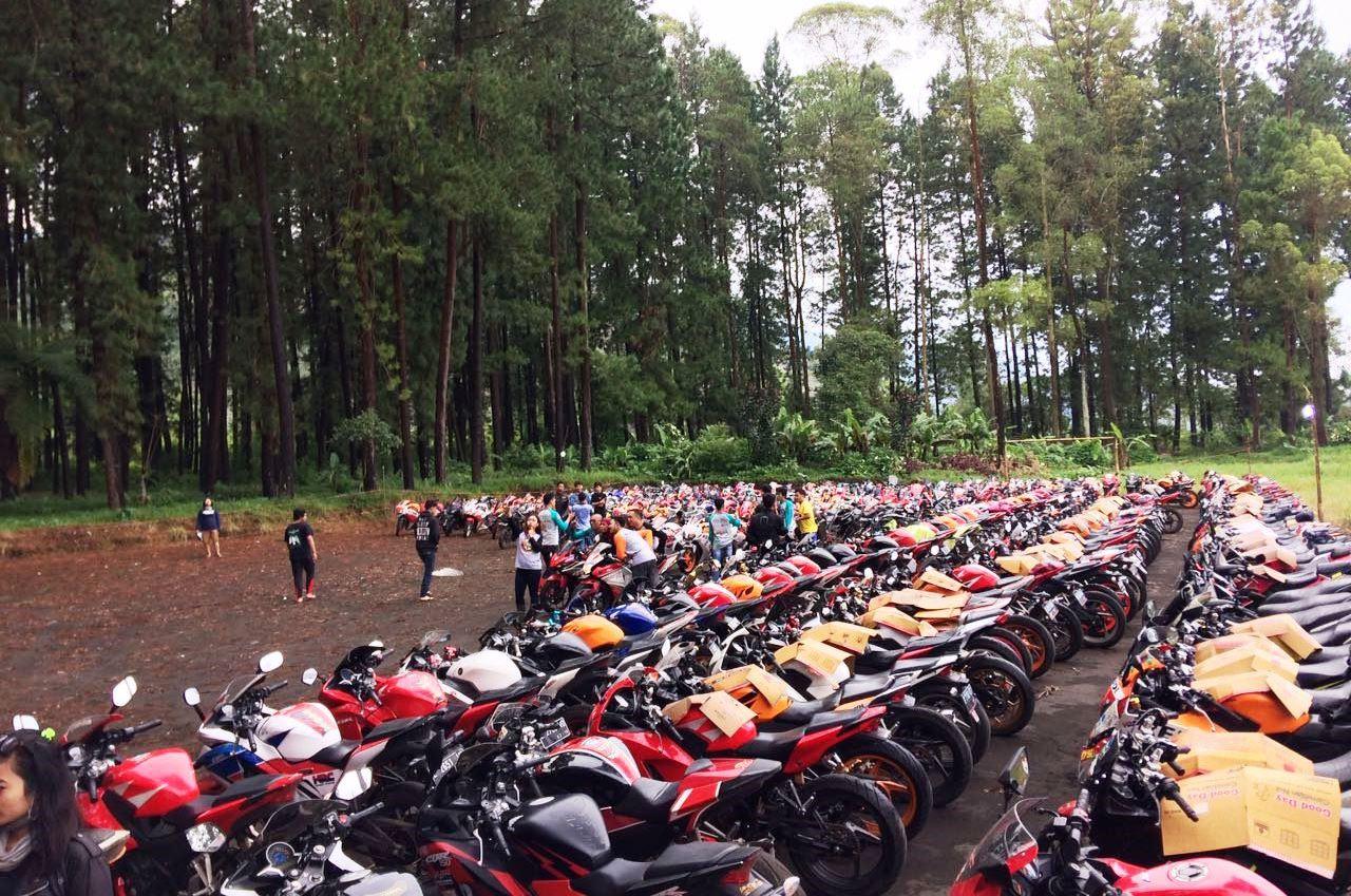 klub CBR se-Indonesia kemping di Majalengka