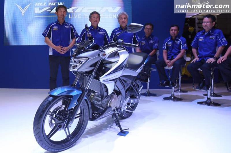 Yamaha All New V-ixion Tampil Lebih Langsing