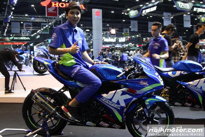 Modifikasi Suzuki GSX-R150 dengan Fairing Gaya MotoGP