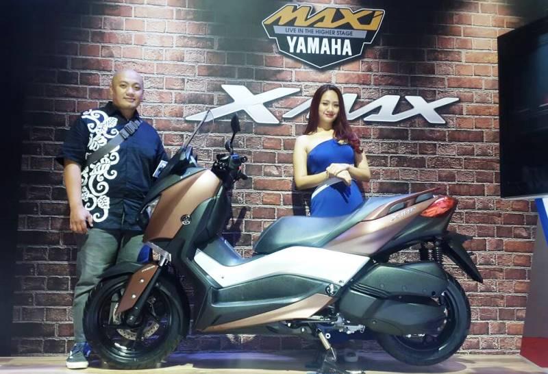 inden Yamaha XMax 250 di IIMS 2017