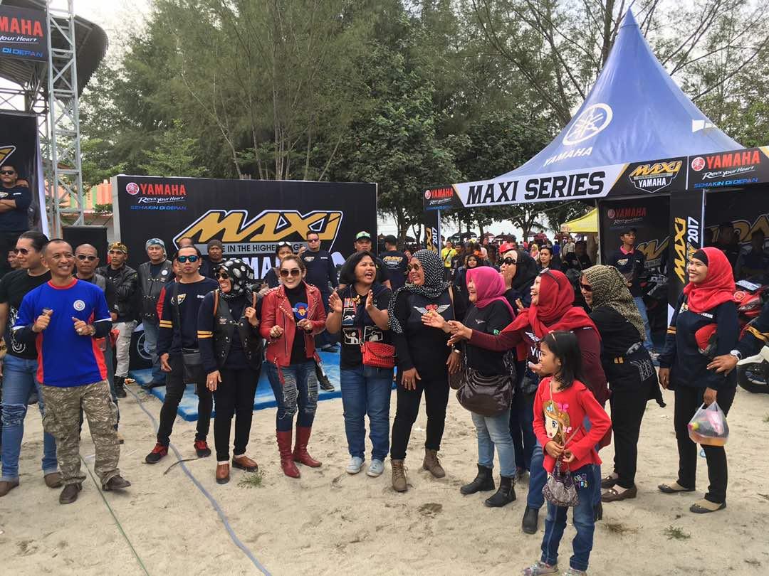 Pemilik Maxi Yamaha di Medan