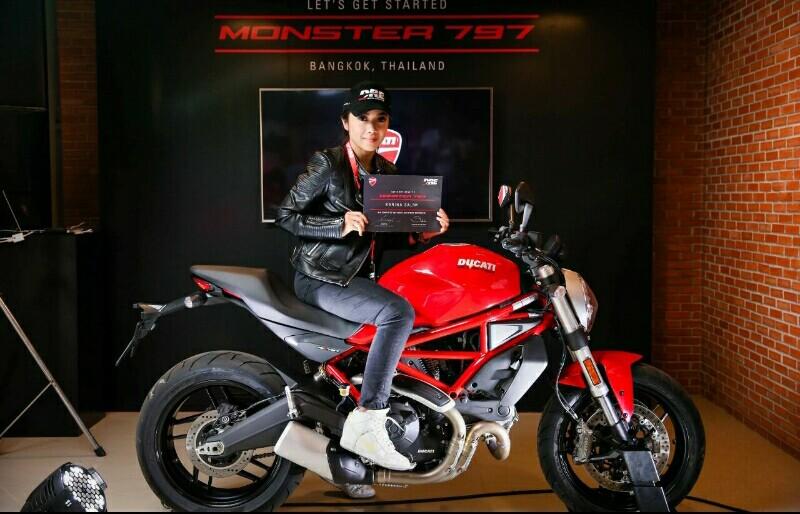 Ducati Monster 797 Red