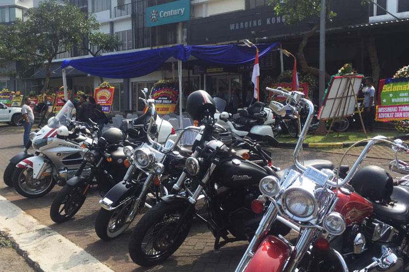 Warung Kongkow, Tempat Kumpul Baru HDCI Chapter Tangerang