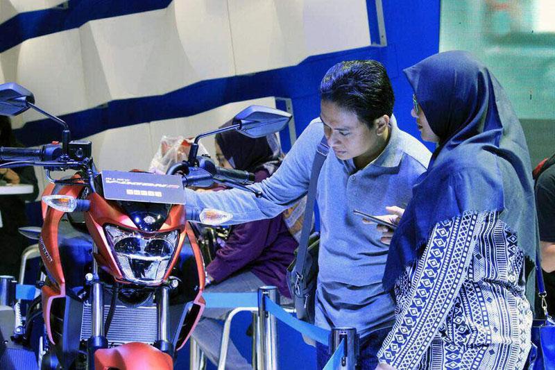 Yamaha Pecah Rekor Jual 500 Motor di IIMS 2017