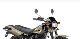 New Yamaha TW200