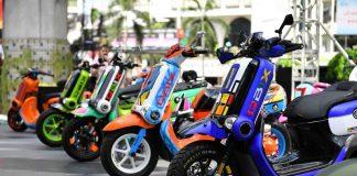 Kontes Yamaha QBIX Custom Made Battle