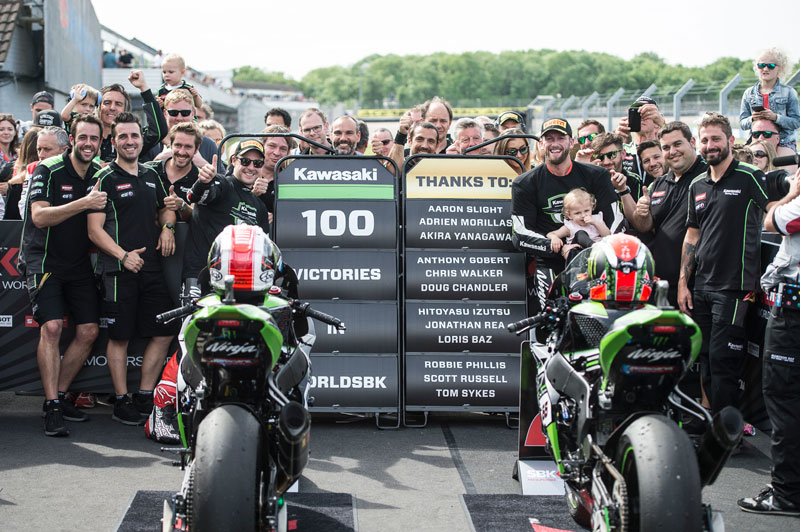 Sejarah Panjang Kemenangan Ke-100 Kawasaki di WSBK